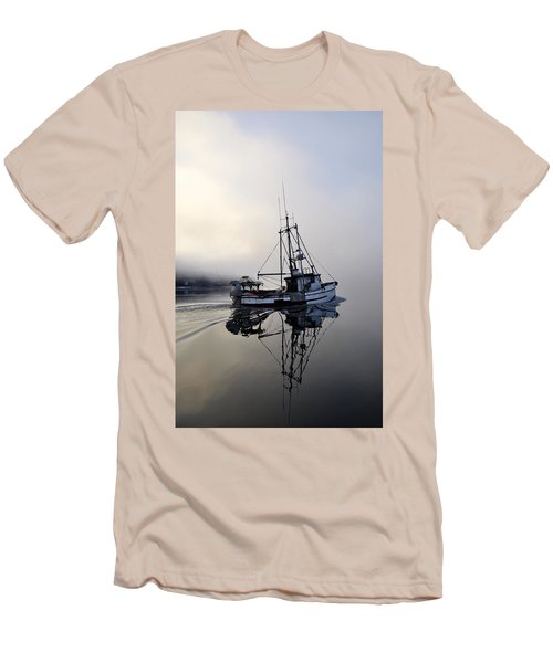 Fog Bound Men's T-Shirt (Slim Fit) by Cathy Mahnke