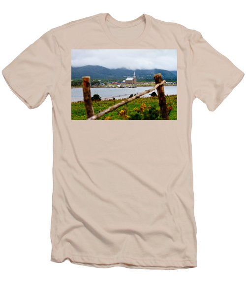 Foggy Day In Cheticamp Men's T-Shirt (Athletic Fit)