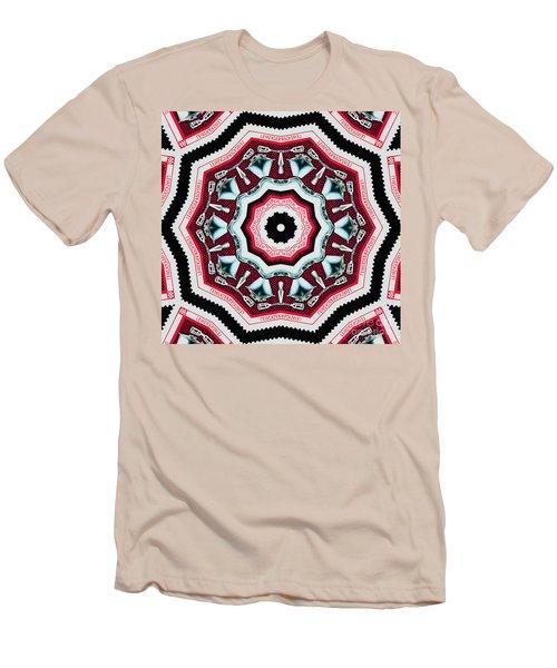 Food Mixer Mandala Men's T-Shirt (Slim Fit) by Andy Prendy