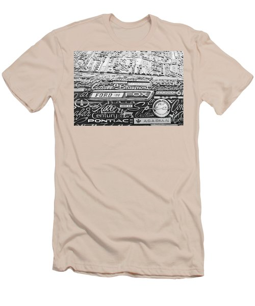 Ford Fox Men's T-Shirt (Slim Fit) by Chris Dutton