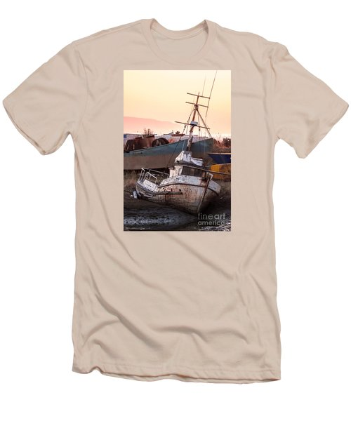 Men's T-Shirt (Slim Fit) featuring the digital art Forgotten In Homer by William Fields