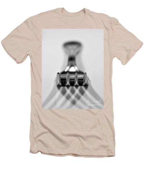 Fork Men's T-Shirt (Slim Fit) by Douglas Stucky