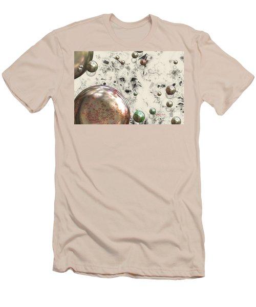 Fox Bubbles  Men's T-Shirt (Athletic Fit)
