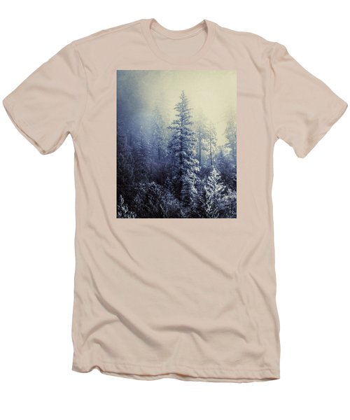 Frozen In Time Men's T-Shirt (Slim Fit) by Melanie Lankford Photography