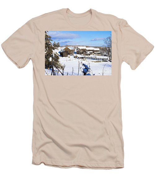 Frozen In Time Two In Color Men's T-Shirt (Athletic Fit)