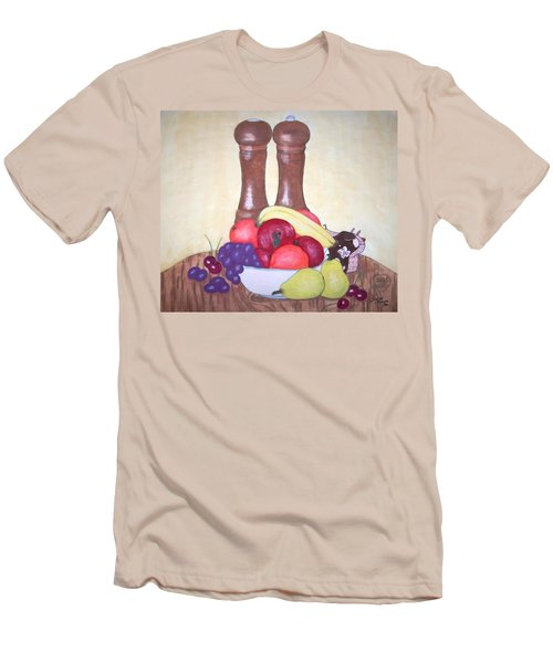 Fruit Table Men's T-Shirt (Athletic Fit)