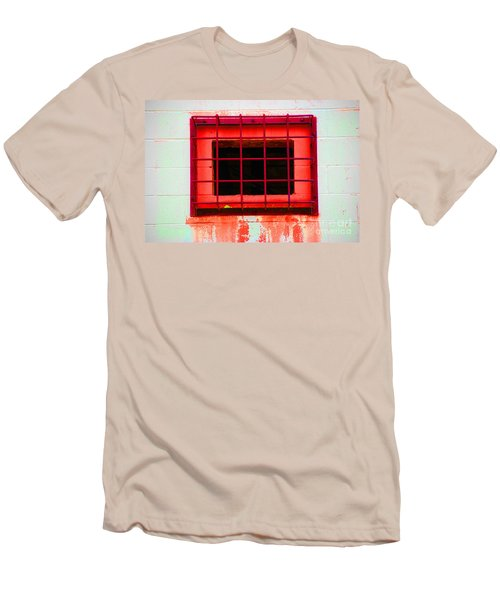 Men's T-Shirt (Slim Fit) featuring the photograph Gated Community by Christiane Hellner-OBrien