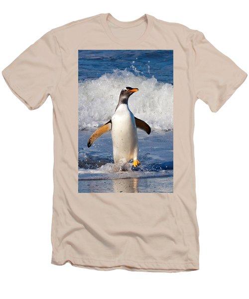 Gentoo Ashore Men's T-Shirt (Athletic Fit)