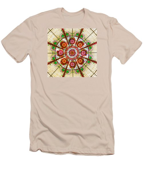 Men's T-Shirt (Slim Fit) featuring the photograph Glass Dome by Val Miller