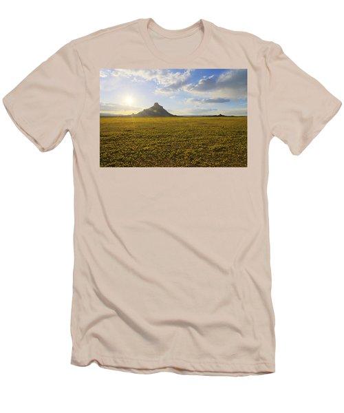 Golden Desert Men's T-Shirt (Athletic Fit)