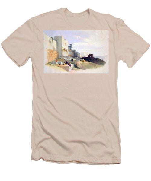 Golden Gate Of The Temple Men's T-Shirt (Athletic Fit)