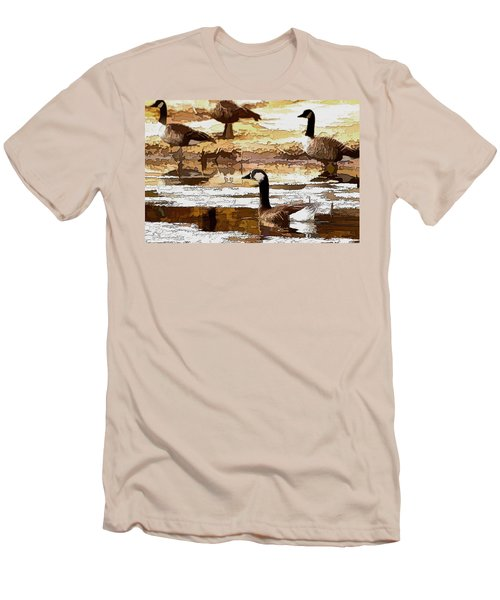 Goose Abstract Men's T-Shirt (Athletic Fit)