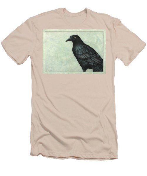 Grackle Men's T-Shirt (Slim Fit) by James W Johnson