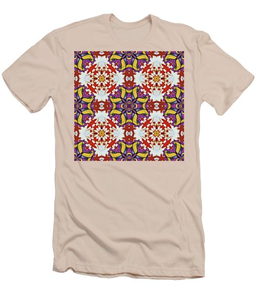 Graffito Kaleidoscope 40 Men's T-Shirt (Athletic Fit)