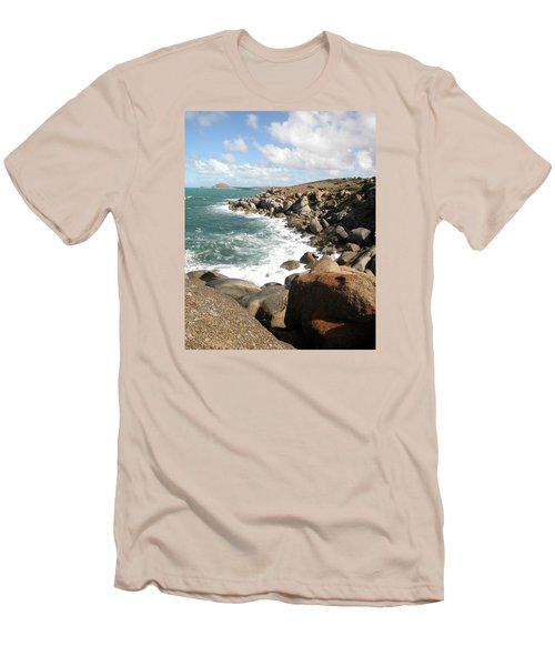 Granite Island Men's T-Shirt (Athletic Fit)