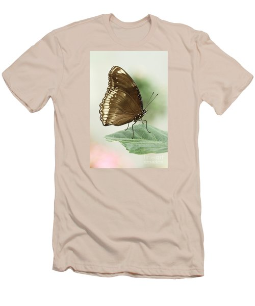 Great Eggfly Butterfly Men's T-Shirt (Slim Fit) by Judy Whitton