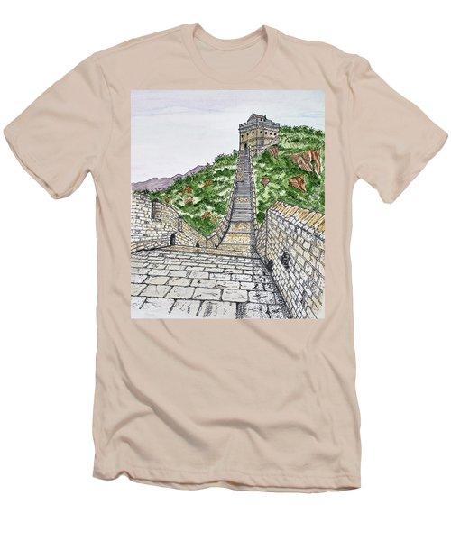 Greatest Wall Ever Men's T-Shirt (Athletic Fit)