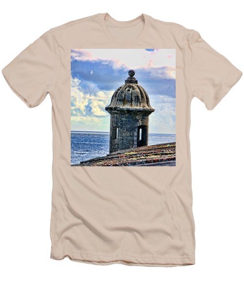 Guard Tower At El Morro Men's T-Shirt (Athletic Fit)