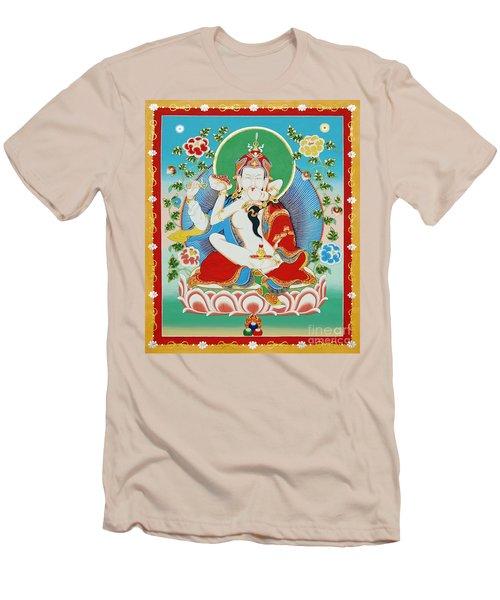 Guru Rinpoche Yab Yum Men's T-Shirt (Athletic Fit)