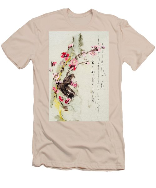 Haiga My Spring Too Is An Ecstasy Men's T-Shirt (Slim Fit) by Peter v Quenter