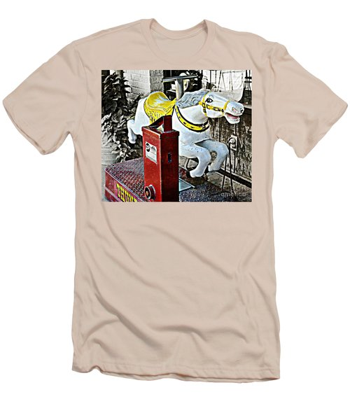 Hannibal Mechanical Riding Horse Men's T-Shirt (Athletic Fit)