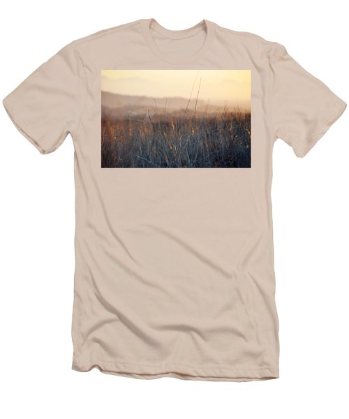 Men's T-Shirt (Slim Fit) featuring the photograph Happy Camp Canyon Magic Hour by Kyle Hanson