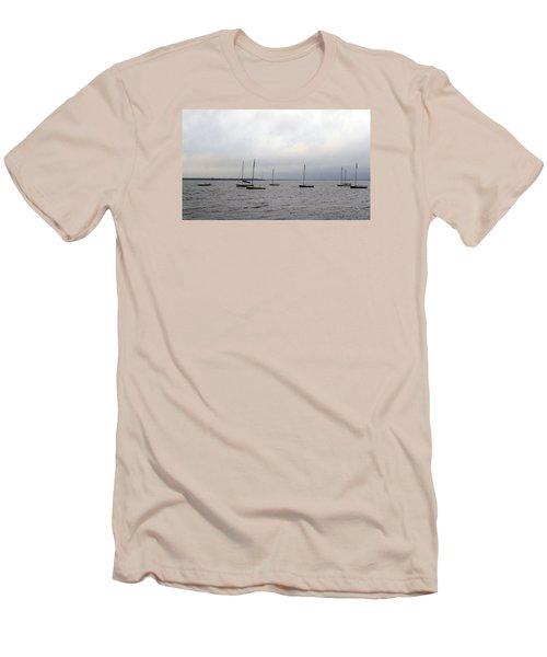 Harbor Men's T-Shirt (Slim Fit) by David Jackson