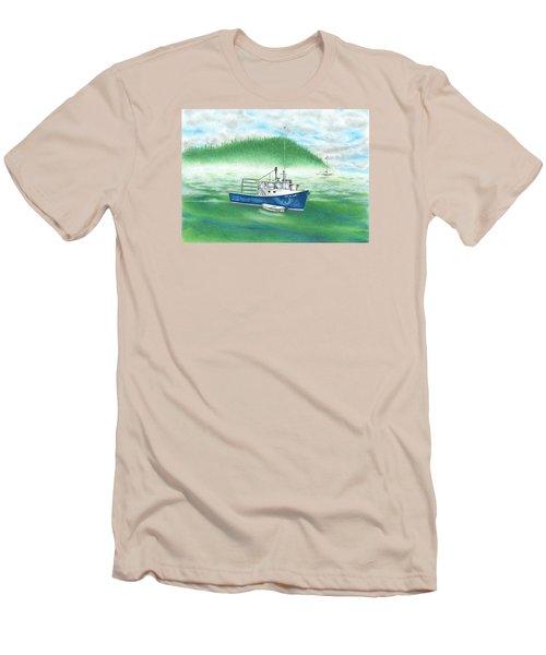 Harbor Men's T-Shirt (Slim Fit)