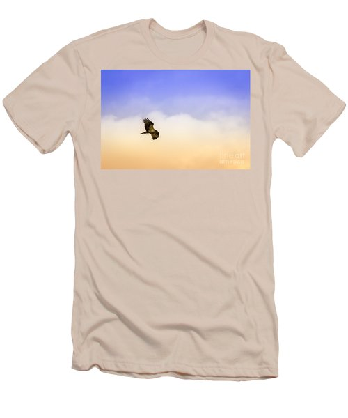 Hawk Over Head Men's T-Shirt (Athletic Fit)