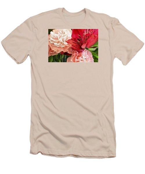 Heart's A Flutter Men's T-Shirt (Slim Fit) by Julie Andel