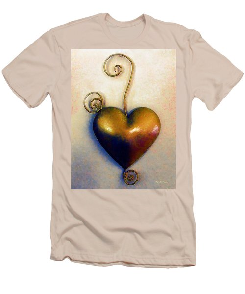 Heartswirls Men's T-Shirt (Athletic Fit)