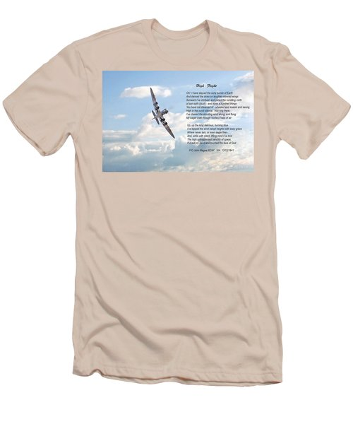 High Flight Men's T-Shirt (Athletic Fit)