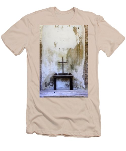 Historic Hope Men's T-Shirt (Slim Fit) by Laurie Perry