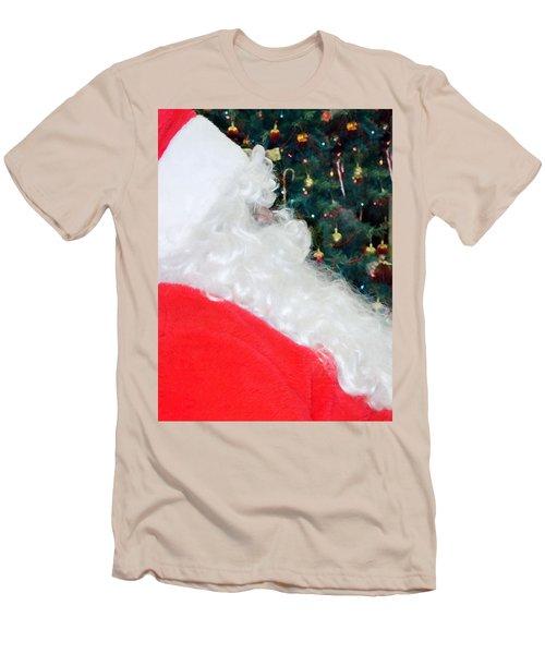 Men's T-Shirt (Slim Fit) featuring the photograph Santa Claus by Vizual Studio
