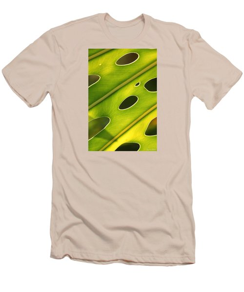 Holey Light Men's T-Shirt (Slim Fit) by Amy Gallagher