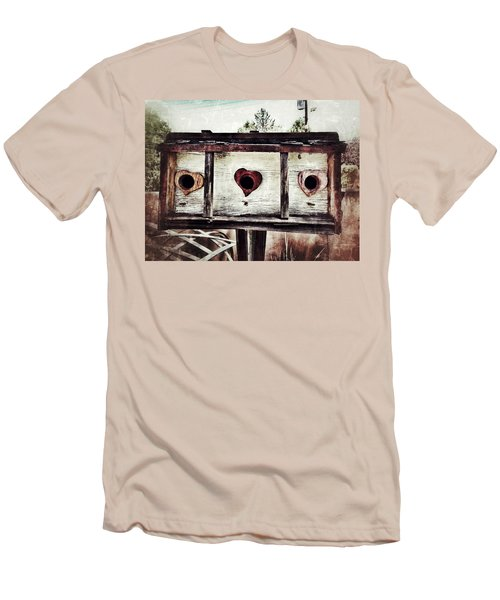 Home Sweet Home Men's T-Shirt (Slim Fit) by Mark David Gerson