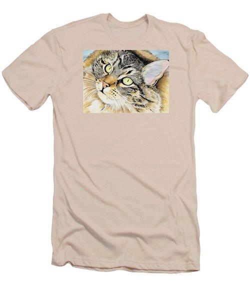 Hopeful Men's T-Shirt (Slim Fit) by Shari Nees