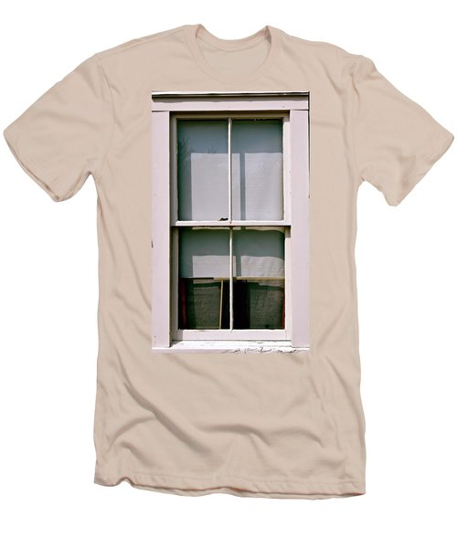Hopper Was Here Men's T-Shirt (Slim Fit) by Ira Shander