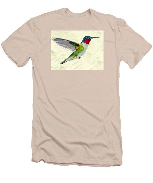 Da103 Broadtail Hummingbird Daniel Adams Men's T-Shirt (Athletic Fit)