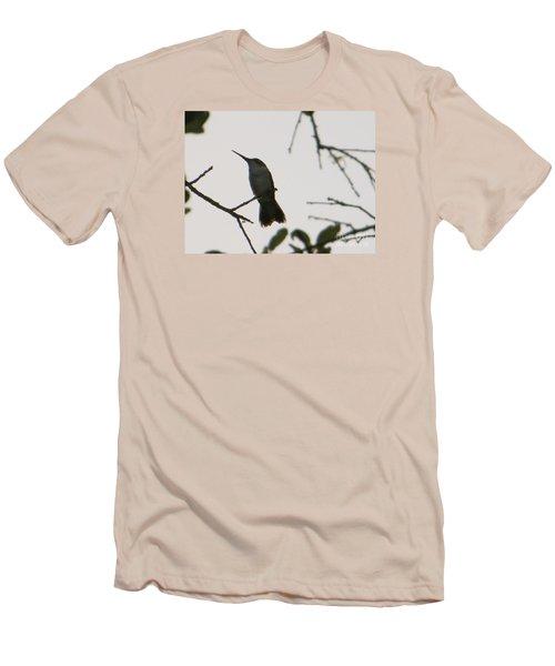 Hummingbird Silhouette 2 Men's T-Shirt (Slim Fit) by Joy Hardee