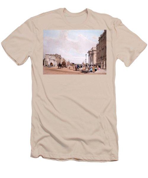 Hyde Park Corner, Looking Men's T-Shirt (Slim Fit) by Thomas Shotter Boys