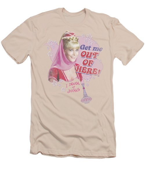 I Dream Of Jeannie - Out Of Here Men's T-Shirt (Athletic Fit)