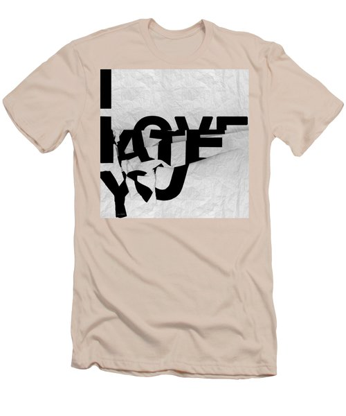 I Have You Men's T-Shirt (Athletic Fit)