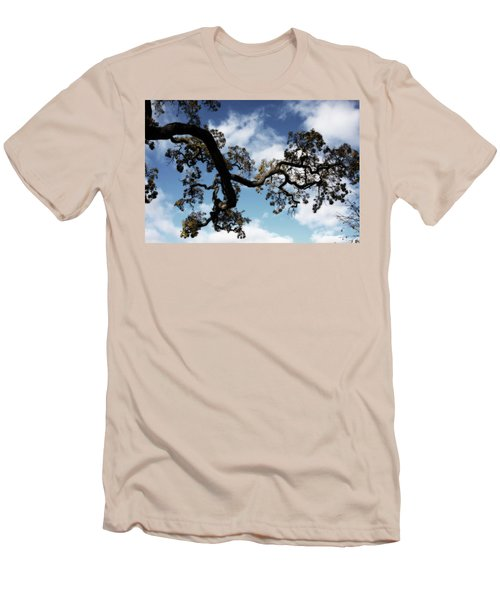 I Touch The Sky Men's T-Shirt (Slim Fit) by Laurie Search