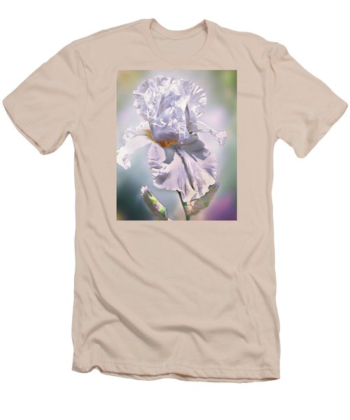 Men's T-Shirt (Slim Fit) featuring the digital art Ice Queen by Mary Almond