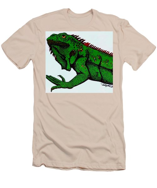 Iguana Men's T-Shirt (Athletic Fit)