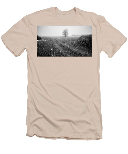 Men's T-Shirt (Slim Fit) featuring the photograph In The Mist by Davorin Mance