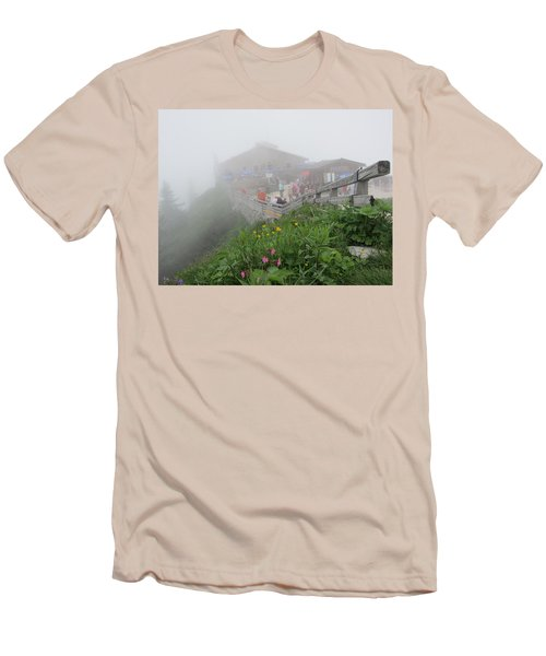 Men's T-Shirt (Slim Fit) featuring the photograph In The Mist by Pema Hou