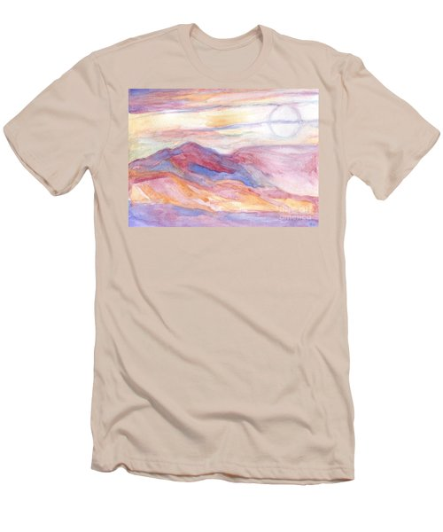 Indian Summer Sky Men's T-Shirt (Athletic Fit)