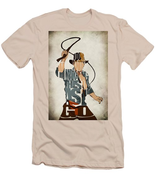 Indiana Jones - Harrison Ford Men's T-Shirt (Athletic Fit)